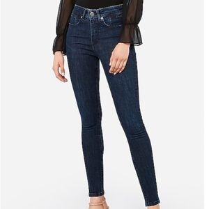 Express High Rise Denim Perfect Lift Jeans 4 NWT